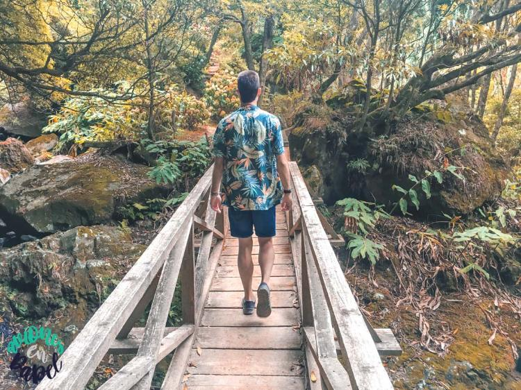 Ruta Salto da Farinha, Sao Miguel (Islas Azores)
