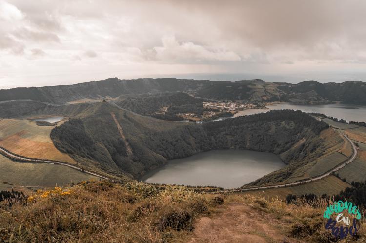 Qué hacer en Sao Miguel en 7 días: visitar Caldera Sete Cidades