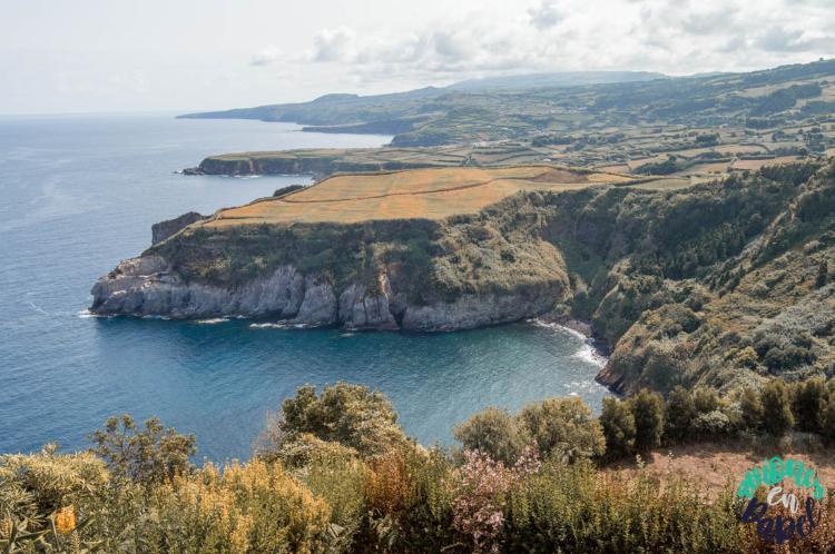 Miradouro de Santa Iria, Sao Miguel (Islas Azores)
