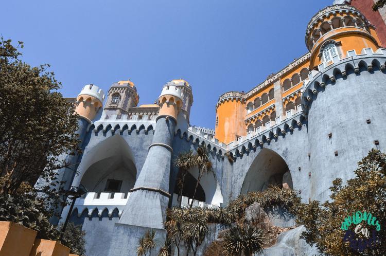 Entrada al Palacio da Pena. Qué ver en Sintra y cómo llegar desde Lisboa