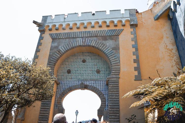 Puerta de la Rosa. Qué ver en Sintra en un día