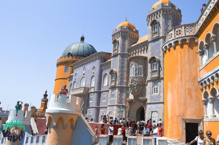 Qué ver en Sintra en un día - Terraza del Tritón
