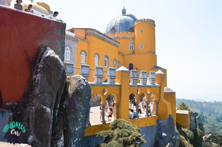 Terraza del Palacio da Pena - Sintra