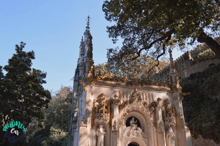 Capilla de la Santísima Trinidad. Quinta da Regaleira