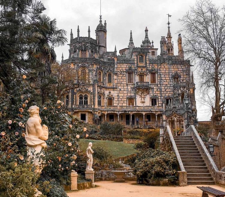 Qué ver en Sintra y cómo llegar desde Lisboa - Palacio da Regaleira