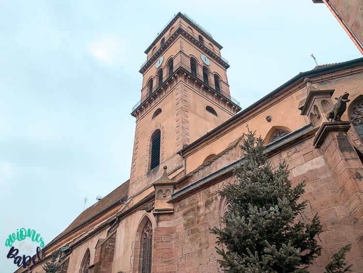 Église Sainte Croix - Qué ver en Kaysersberg