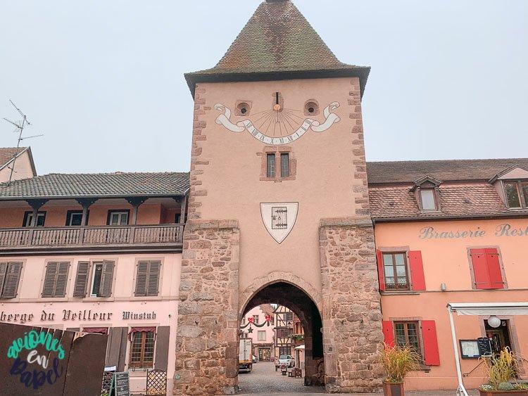 Qué ver en Turckheim: Puerta de Francia