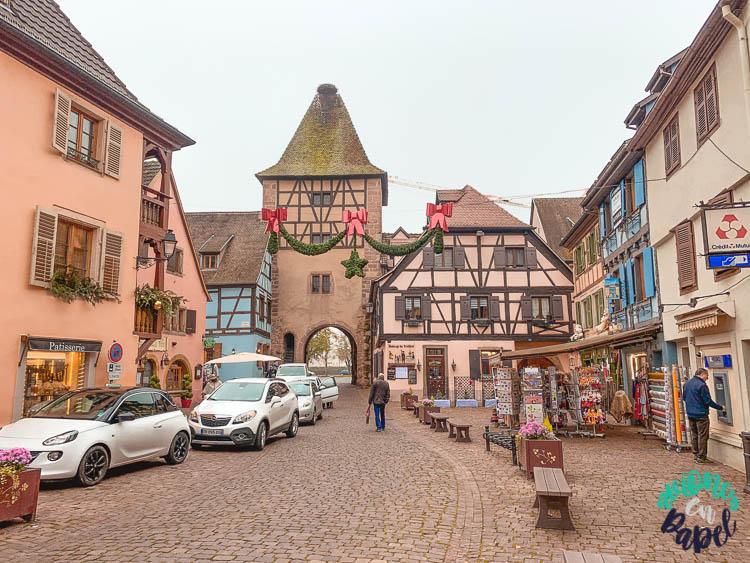Caso histórico y Puerta de Francia de Turckheim