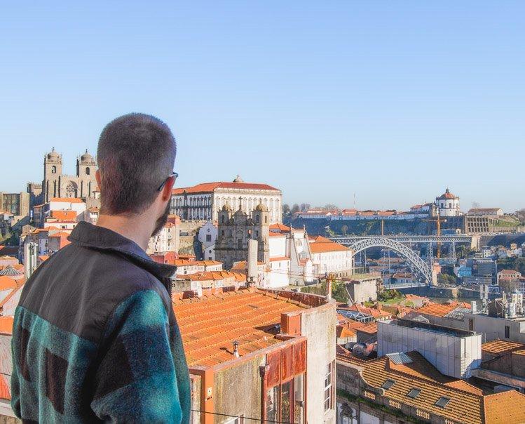 Los mejores miradores de Oporto: Miradouro da Vitoria