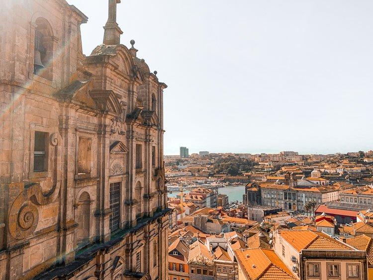 Los mejores miradores de Oporto: Iglesia de San Lorenzo de Grilos