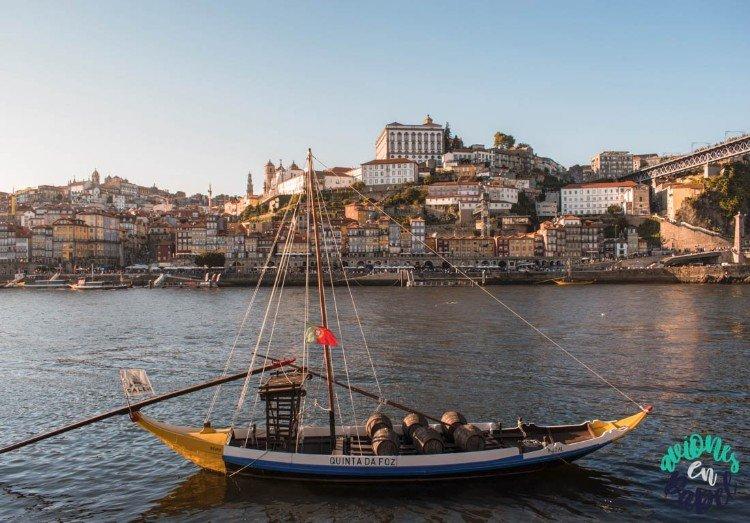 Vistas desde Cais de Gaia, Oporto