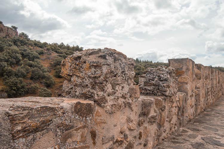 Adarve bajo de la Muralla de Buitrago