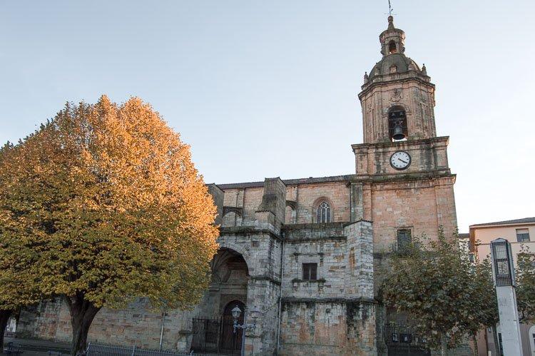 Basílica de Santa María en Portugalete