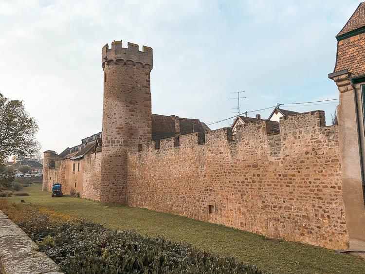 Qué ver en Obernai: las Murallas