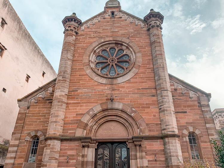 Qué ver en Obernai: Sinagoga