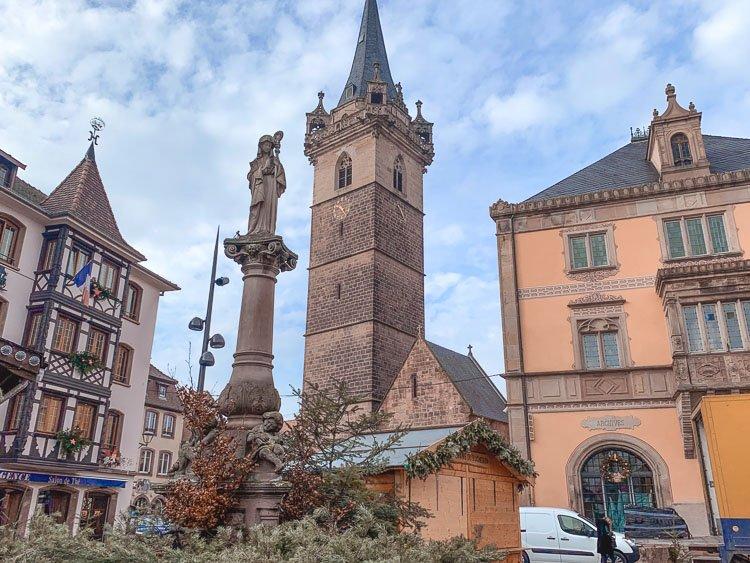 Beffroi y el Ayuntamiento. Qué ver en Obernai