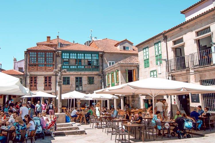 Plaza de la Leña - Qué ver en Pontevedra