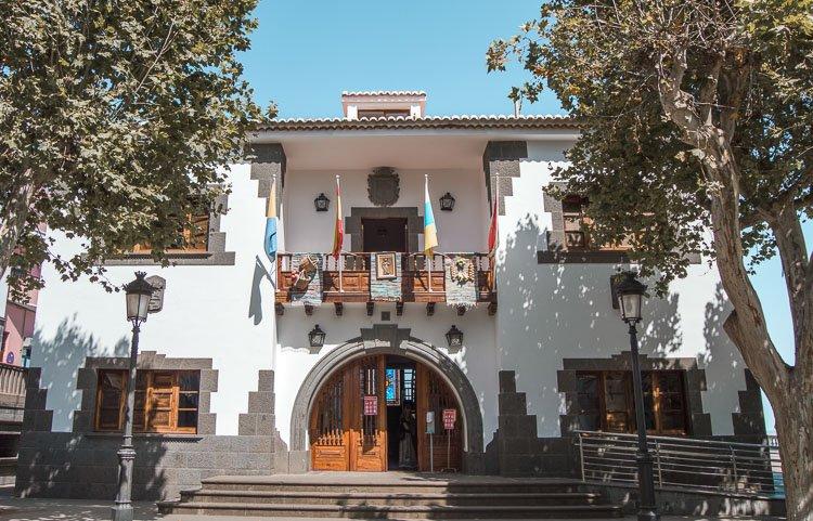 Pueblo de Firgas en Gran Canaria