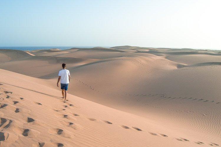 Ruta para saber qué ver en Gran Canaria en 7 días: Dunas de Maspalomas