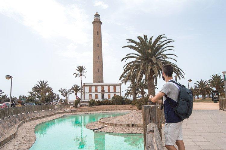 Ruta para saber qué ver en Gran Canaria en 7 días: Faro de Maspalomas