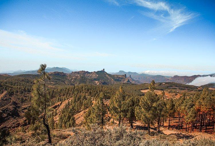 Ruta para saber qué ver en Gran Canaria en 7 días - Mirador Pico de las Nieves