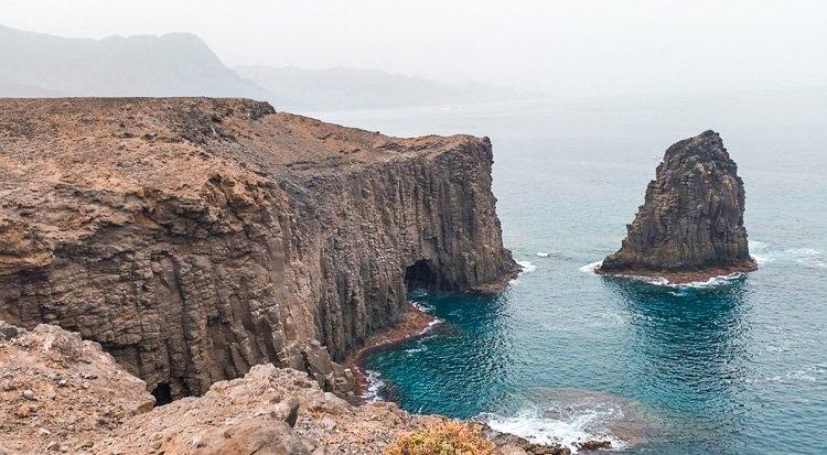 El Farallón y Risco Partido, Gran Canaria