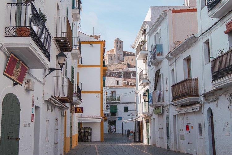 Qué ver en Ibiza en 4 días: centro histórico Dalt Vila