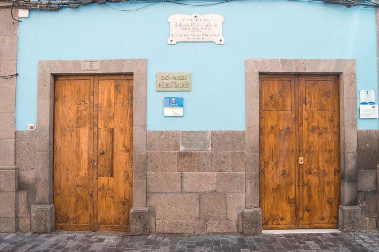 Qué ver en Las Palmas de Gran Canaria: Casa Museo Pérez Galdós
