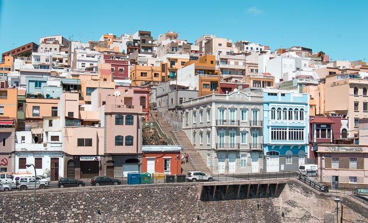 Risco de Cuesta Mata, Las Palmas