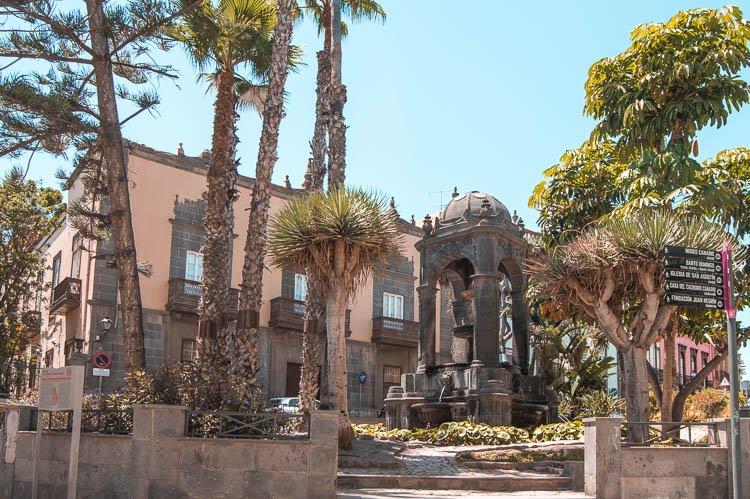 Plaza del Espíritu Santo, Las Palmas