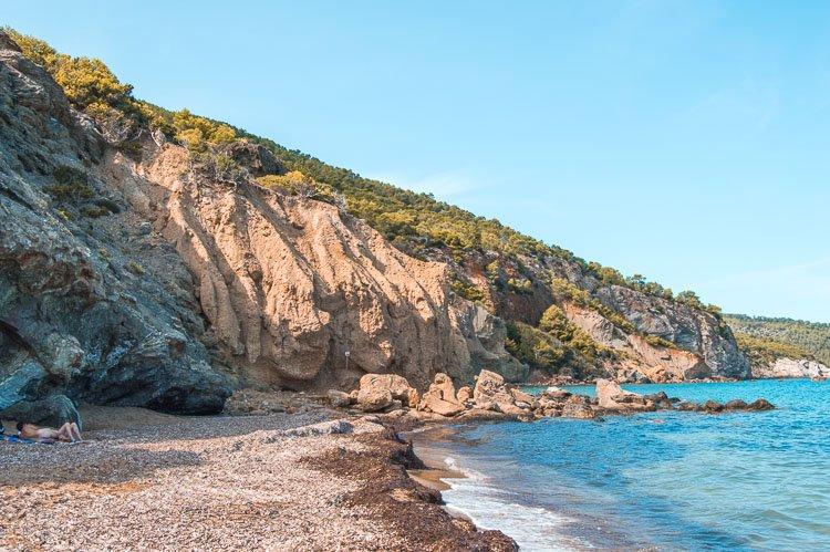 Playa Aigües Blanques, Ibiza