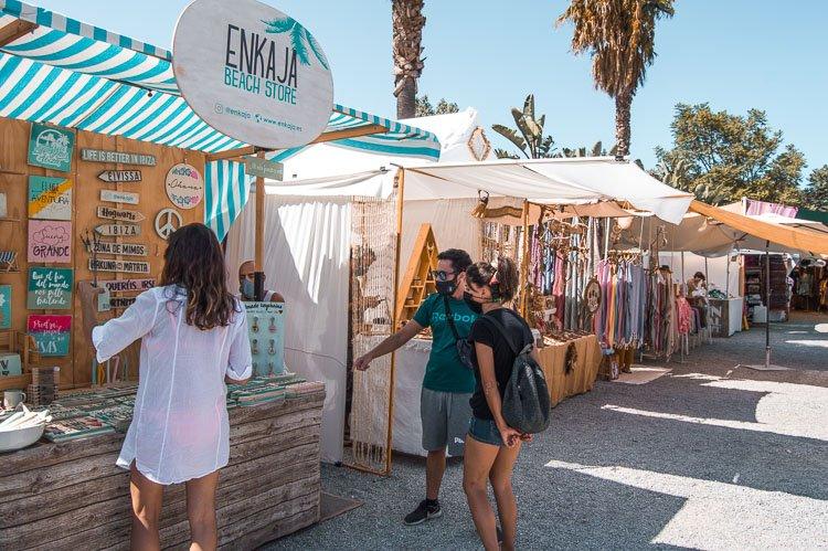 Qué ver en Ibiza en 4 días: Mercadillo hippy Las Dalias