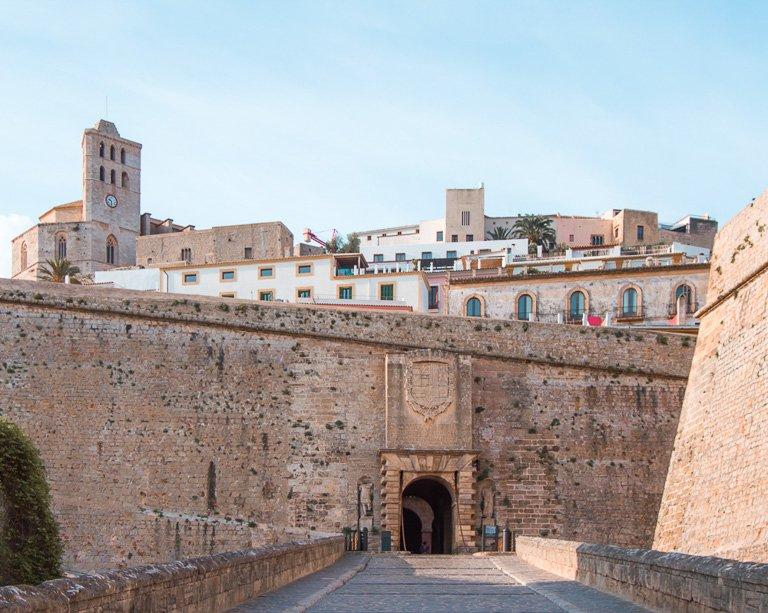 Dalt Vila, centro histórico de Ibiza ciudad