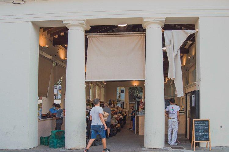 Qué ver en Dalt Vila, centro de Ibiza ciudad: Mercado viejo