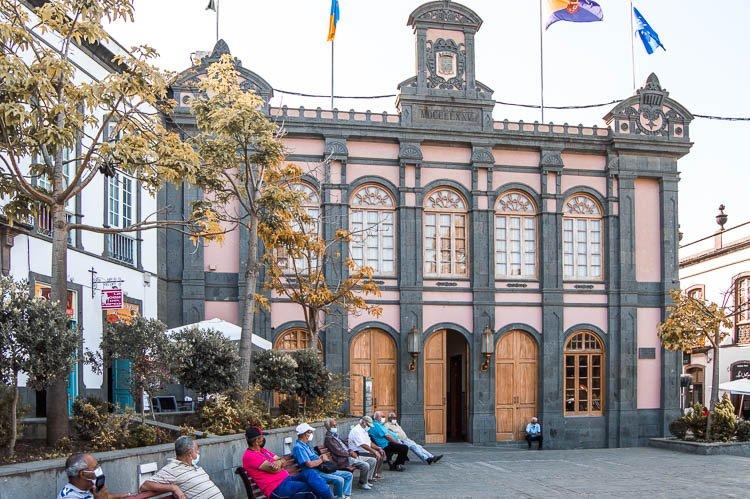 Qué ver en Arucas: Casa Consistorial (Ayuntamiento)