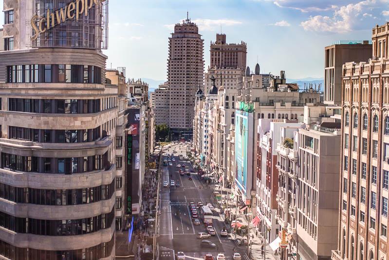 Qué ver en Madrid en 2 días: Gran Vía