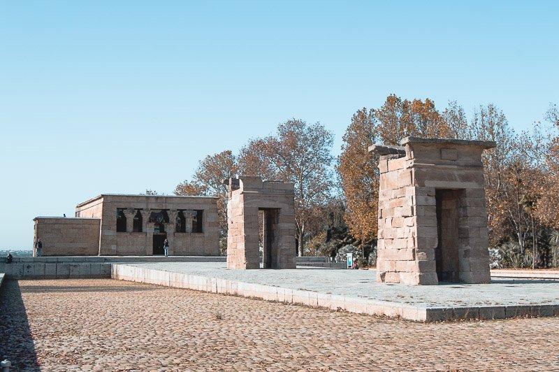 Qué ver en Madrid en 2 días: Templo de Debod