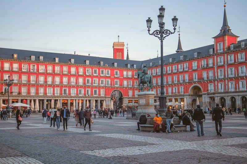 Plaza de Mayor, Madrid