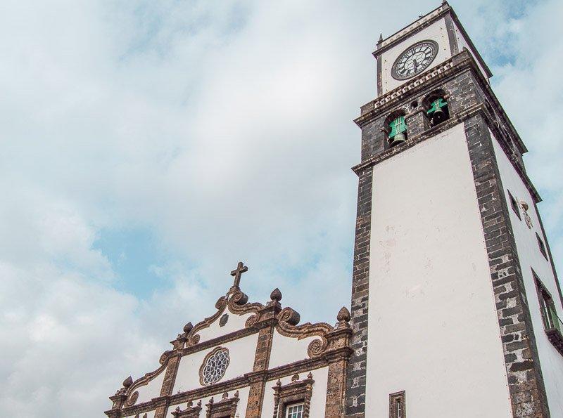 Qué ver y hacer en Ponta Delgada: Iglesia de San Sebastián