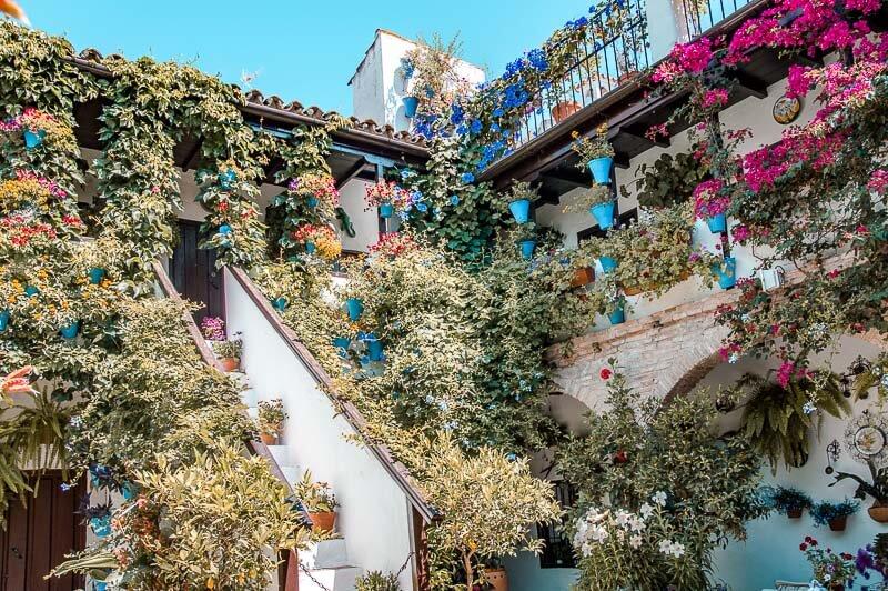 Precio patio cordobés del Alcazar Viejo (San Basilio)