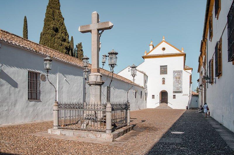 Plaza de los Capuchinos, una de las más importantes que ver en Córdoba en 2 días