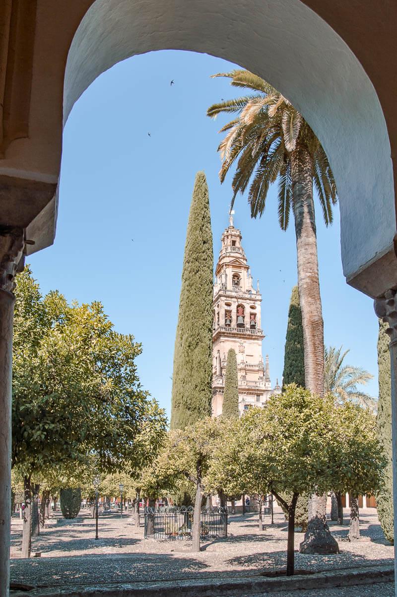 Torre Campanario y antiguo minrate, Córdoba