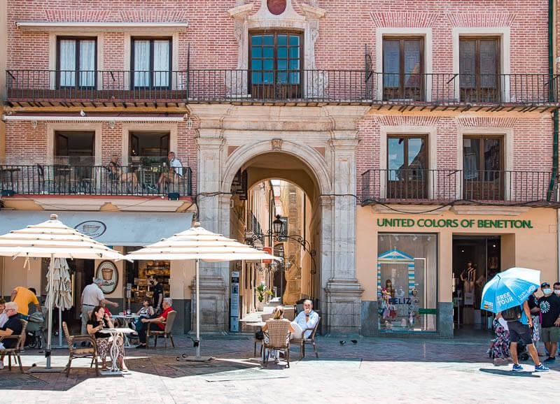 Pasaje de Chinitas en el centro histórico de Málaga