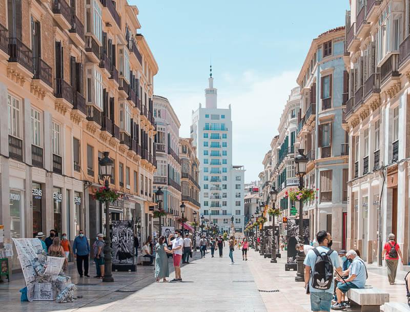 Calle Marqués de Larios I Qué ver y hacer en Málaga en un día