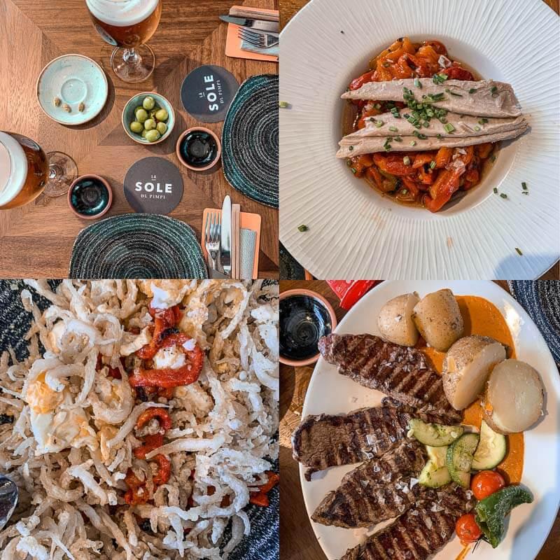 El Pimpi, uno de los lugares más famosos donde tomar algo y comer en Málaga