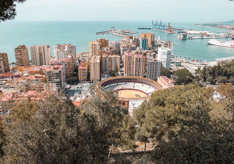 Mirador de Gibralfaro I Qué ver y hacer en Málaga en un día
