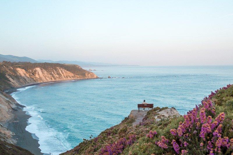 Mirador del Sablón, el banco con las mejores vistas de Asturias